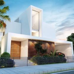 Architectural Model Of A Residental Villa